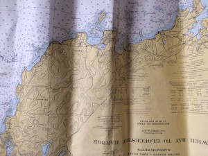 Cape Ann Nautical Chart